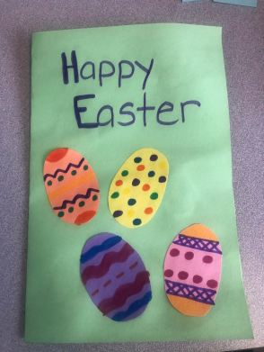 Easter card 1