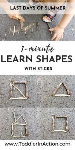 learn with sticks