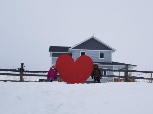 Mia and Toran's heart